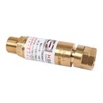Schweißen Mini Sicherheitsventil Rückschlagventil Sauerstoff für Schlaucheinbau 4 mm von