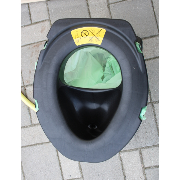 Separett trocken trenn toilette rescue camping 25 mobile - Pot de chambre camping ...