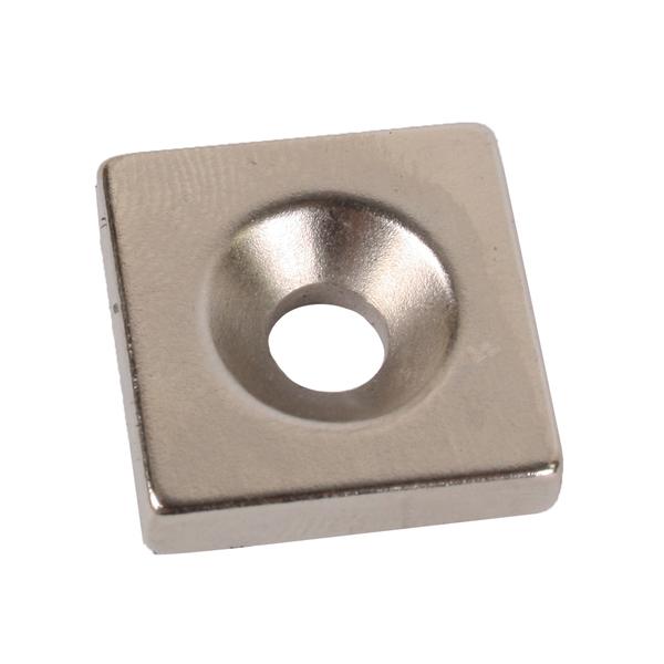 neodym magnet 20x20x5 f r werkzeugordnung zum anschrauben. Black Bedroom Furniture Sets. Home Design Ideas
