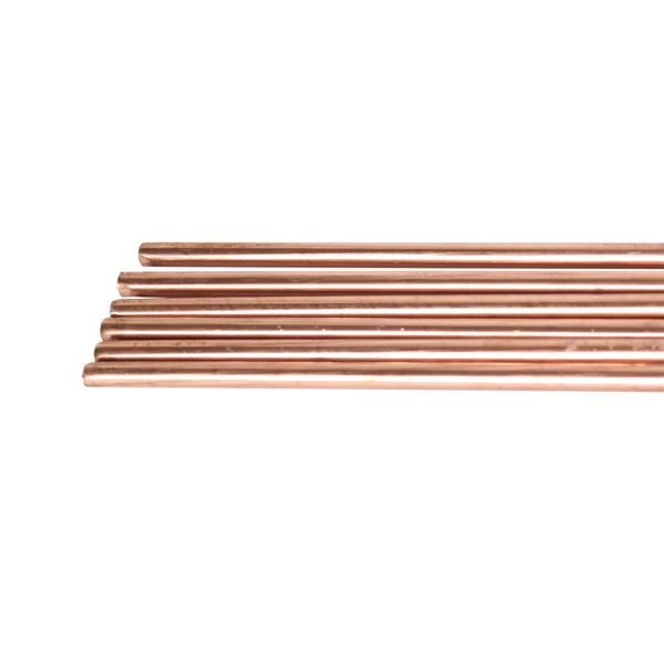 Eisenschweißdraht GII verkupfert 2,5 mm 26 Stäbe ca 1 kg Gasschweißdraht