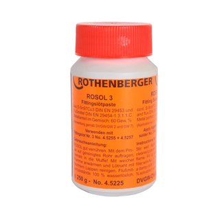 ROSOL 3 Fittingslötpaste 250 g von Rothenberger