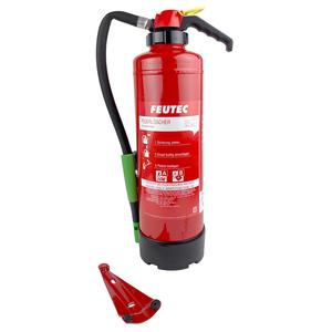 Schaumfeuerl/öscher Neuruppin 10LE Dauerdruckl/öscher S6DN eco premium 6l und Instandhaltungsnachweis von Feuerl/öscher-Tauschsystem