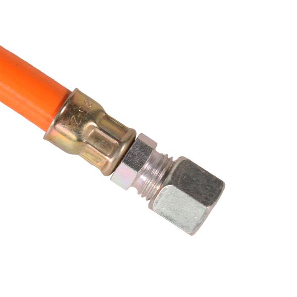 """an 8 mm Rohranschluss Propanschlauch 2 m ND 1//4/"""" links"""