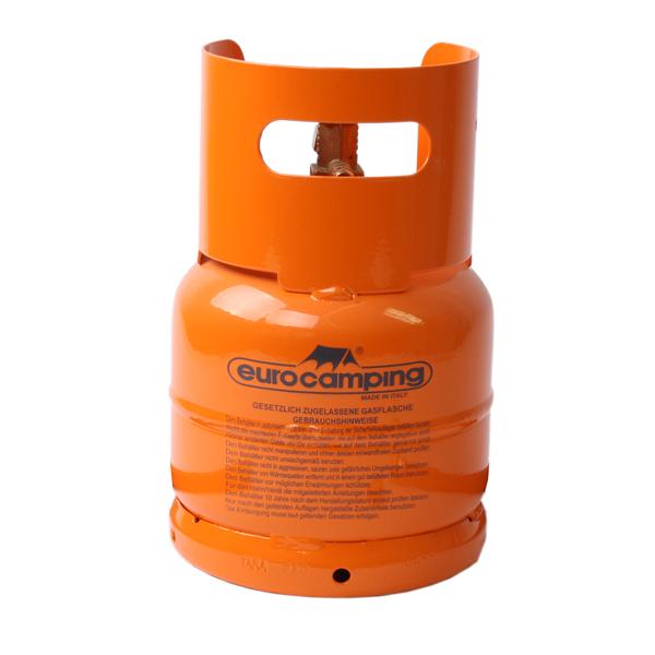 leere orange bef llbare gasflasche 1 kg propan butan. Black Bedroom Furniture Sets. Home Design Ideas