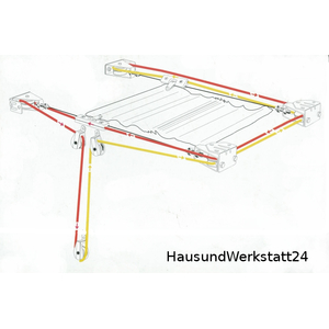 seilzugsystem sonnensegel seilspannmarkise 14m seil. Black Bedroom Furniture Sets. Home Design Ideas