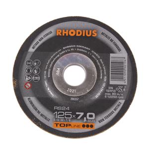 Rs24 Schruppscheibe Aluminium Ne Metall Gekropft Von Rhodius 2